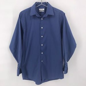 Blue Old Navy Regular fit 15 1/2 - 32/33 button up